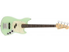Fender AM Performer Mustang Bass Satin Surf Green