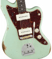 Fender 1965 Jazzmaster Relic RW Faded Aged Surf Green