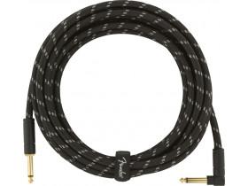 Fender DLX 4,5 m Black Tweed vinkel