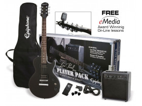 Epiphone Les Paul Player Pack CF BK