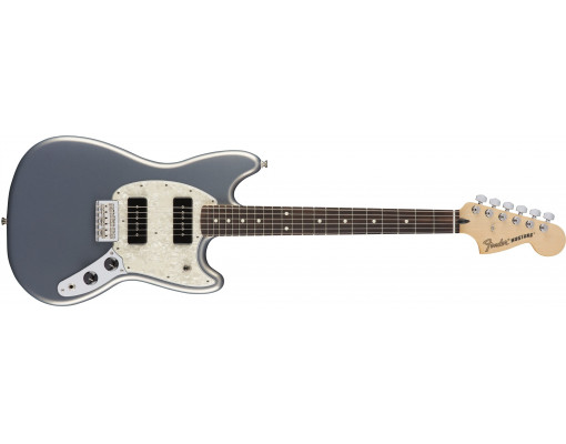 Fender Mustang 90 RW Silver